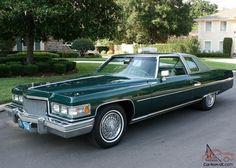 1975 cadillac coupe de ville   ... ORIGINAL LOW MILE SURVIVOR -1975 Cadillac Coupe de Ville - 20K ORIG MI