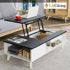 [S$129.00][BLMG_SG]NEW ARRIVAL! Lift Top Coffee Table★800cm / 1200cm★Lift Table★Lift Top Table / Laptop Table★Furniture★MADE IN KOREA★Singapore seller★Local fast delivery