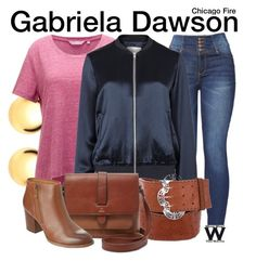 Inspired by Monica Raymund as Gabriela Dawson Chicago Fire. Fashion Tv, Teen Fashion Outfits, Fashion Ideas, Chicago Fire Casey, Chicago Med, Chicago Outfit, Fendi Clothing, Tv Show Outfits, Character Inspired Outfits