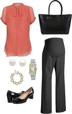 """""""Maternity Workwear: 9 to 5"""" by howhauteisthat on Polyvore"""