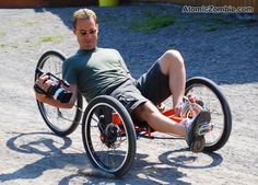 A low, lean and stable recumbent trike.