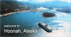 aerial view of Hoonah :: Next Holiday Destination!!!
