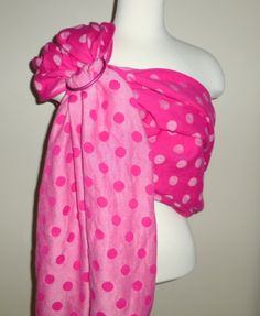 @Zanytoes Boutique Boutique #Didymos pink hemp dots #WCRS #wrapconversion #ringsling