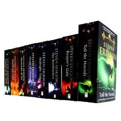 Steven Erikson 8 Books Collection The Malazan Book of the Fallen