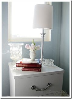 easy painting for laminate  58th Power of Paint Party… Nightstands