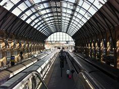 London King's Cross Railway Station (KGX) in King's Cross, Greater London  Heavily featured in the first book and movie, where Hagrid drops off Harry and directs him to 9 3/4.