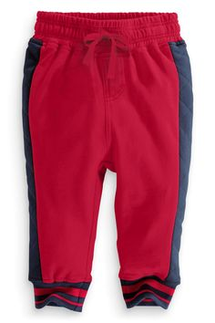 Buy Joggers With Quilted Side And Badge (3mths-6yrs) from the Next UK online shop