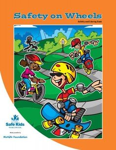 Safety on Wheels Activity Book - Safe Kids Read more about helmet, brakes, helmets, roller, skateboard and drivers.
