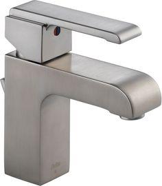 Lowes Bathroom, Bathroom Sink Faucets, Bathroom Ideas, Master Bathroom, Bathrooms, Contemporary Bathroom Faucets, Single Handle Bathroom Faucet, Craftsman Style Homes, Delta Faucets