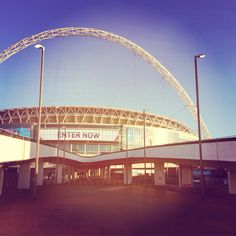 A little trip to Wembley...don't mind if we do!
