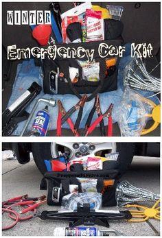 Winter Emergency Car Kit Checklist - Preppers Survives