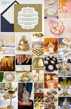 Tarjetas aniversario de bodas,  bodas de oro y de plata.