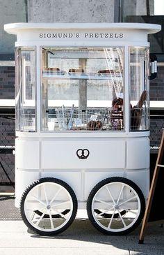 New food truck ideas coffee mobile cafe Ideas<br> Kiosk Design, Cafe Design, Retail Design, Diy Design, Mobile Cafe, Mobile Shop, Food Cart Design, Food Truck Design, Food Stall Design