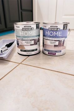 how to paint tile floor DIY: How to Paint Ceramic Floor Tile Farmhouse Living Painting Ceramic Tile Floor, Tile Floor Diy, Painting Tile Floors, Painted Floors, Diy Painting, Diy Floor Paint, Ceramic Tile Floors, Painting Tile Countertops, Painted Kitchen Floors