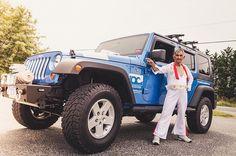 Ocean City #JeepWeep is under way! #Elvis welcome you? #boardwalkelvis #photography