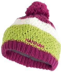 čepice HANNAH BOBBLE JR Knitted Hats, Winter Hats, Beanie, Rock, Knitting, Jr, Tricot, Skirt, Breien