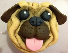 This cute pug cute pug cupcake tutorial is by Shereen from Shereen's Cake & Bakes our guest blogger. Step by Step guide with pictures to help you make yours.