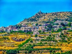 LEBANON, VIEW OF EHDEN, NEW SECTION