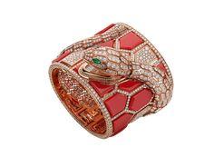 Bracelet Or Rose, Bracelet Watch, Bvlgari Serpenti, Rome Antique, Rose Gold Color, Gold Set, Diamond Cuts, White Gold, Watches