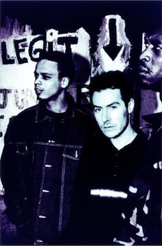 Massive Attack - 1998. Photo: Anton Corbijn  Blue Lines still one of my fave albums of ALL times.  Just be thankful for what you've got.
