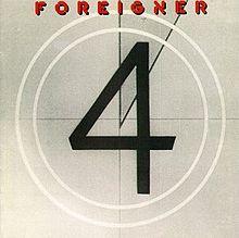 """""""Foreigner 4"""" album (1981)"""
