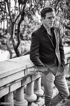 Nachrichtenfoto : Damian Lewis from Showtime's 'Billions' poses in...
