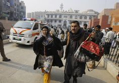 """The overwhelming majority of the victims were students at the army public school, which has children and teenagers in grades 1-10.Photo: AP. """""""