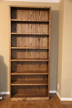 42 ideas oak living room furniture bookshelves for 2019 Homemade Bookshelves, Oak Bookshelves, Bookshelves In Living Room, Plywood Bookcase, Ladder Bookshelf, Trendy Furniture, Classic Furniture, Furniture For Small Spaces, Rustic Furniture
