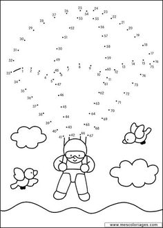 Math For Kids, Craft Activities For Kids, Math Activities, Kindergarten Math Worksheets, Preschool Worksheets, Abacus Math, Dot To Dot Printables, Abc Coloring Pages, English Worksheets For Kids