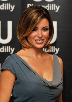 Dannii Minogue Short Hair   #DanniiMinogue #Short #Hair #Style #Bob #Brunette #GetTheLook #GetInspired #Makeup #Bbloggers