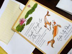 hand made invitations | NooneyArt Designs