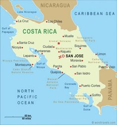 A Small Guide to Visiting Costa Rica - Updated, January, 2014: