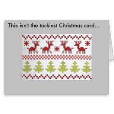 Tackiest Christmas Card