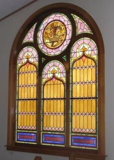 New Stained Glass Church Window