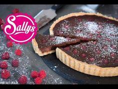 Sallys Rezepte - Schokoladen-Tarte mit Himbeeren