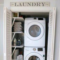http://2beesinapod.com/2017/08/08/small-laundry-room-ideas-room-room-summer-series/