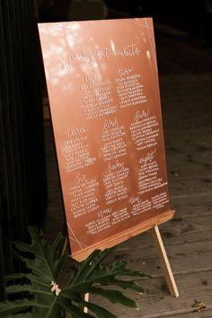 Super Ideas for wedding reception seating chart fun Rustic Seating Charts, Reception Seating Chart, Wedding Reception Seating, Seating Chart Wedding, Wedding Signage, Table Seating, Will Turner, Copper Wedding, Rustic Wedding