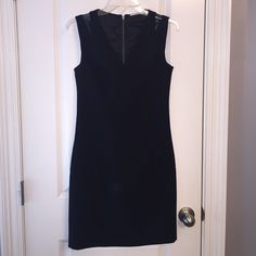 Black Tahari Dress Black Sleeveless Tahari dress with neat woven design above shoulder. The dress is lined. Excellent Condition. NWOT. Price Negotiable Tahari Dresses Mini