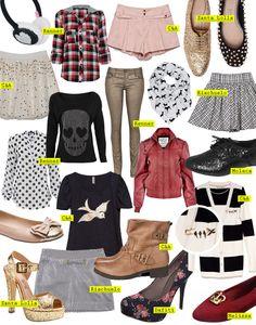 Wishlist de compras Outono/Inverno 2012