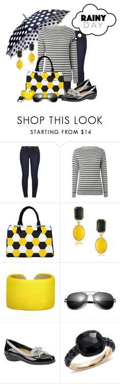 """""""RAIN, RAIN, GO AWAY ... South, U.S.A. - Hurricane Harvey !!!!"""" by fashiongirl-26 ❤ liked on Polyvore featuring Dorothy Perkins, White Stuff, 1st & Gorgeous by Carolee, Leighelena, Beacon and Pomellato"""