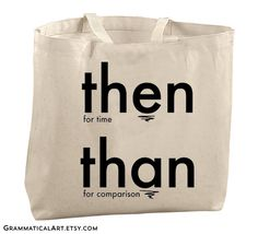 Grammar Tote Bag Large Totes Beach Bags Canvas Tote Bag Reusable Grocery Bag Tote Teacher Bag Gifts for Teachers Gifts English Teacher Gifts by GrammaticalArt on Etsy https://www.etsy.com/listing/183994442/grammar-tote-bag-large-totes-beach-bags