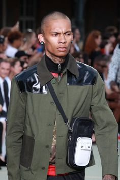 Pin for Later: The Women Ruled the Runway at Givenchy's Men's Show The men sported their own set of chic bags.