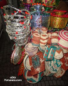 These are used to store bread or in this case roti. Consider them as hot pots