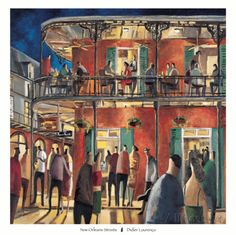 New Orleans Streets Prints by Didier Lourenco at AllPosters.com