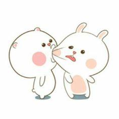 Me to koo junhoe >< Cute Love Memes, Cute Love Gif, Funny Cute, Chibi Cat, Cute Chibi, Rabbit Wallpaper, Naughty Emoji, Cute Bear Drawings, Love Stickers