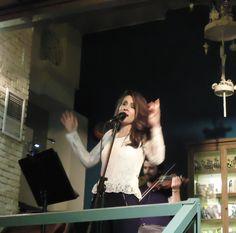 Βάσια Δανιά live @ Jazz Point (18/3/2016) με Δημήτρη Καζάνη (βιολί)