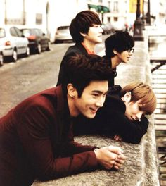 Super Junior in Paris Come visit kpopcity.net for the largest discount fashion store in the world!!