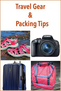 Insider tips on the best travel gear and packing tips including the best suitcases for travel, best travel backpacks, how to pack a suitcase and how pack for long-term travel.