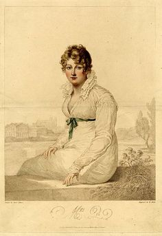 William Blake Mrs Q 1820 engraving after Francois Huet Villiers The British Museum