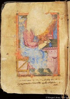 Gospel book, MS M.620 fol. 10v - Images from Medieval and Renaissance Manuscripts - The Morgan Library & Museum